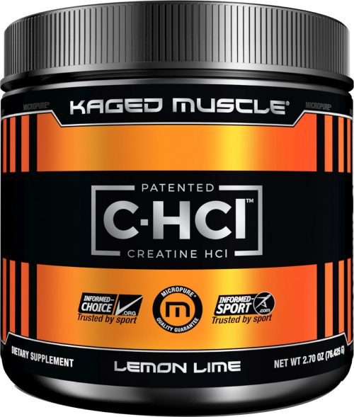 Kaged Muscle C-HCl - 75 Servings Lemon Lime