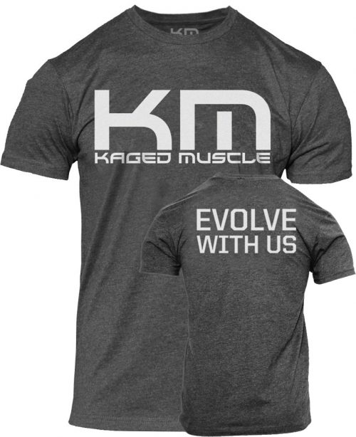 "Kaged Muscle ""Evolve"" T-Shirt - Grey Large"