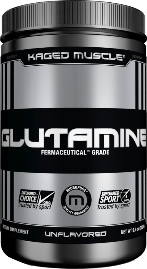 Kaged Muscle Glutamine - 300g Unflavored