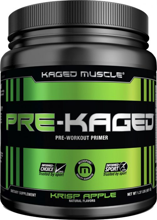 Kaged Muscle Pre-Kaged - 20 Servings Krisp Apple