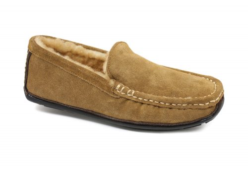 LAMO Boston Driving Moc - Mens - chestnut, 9
