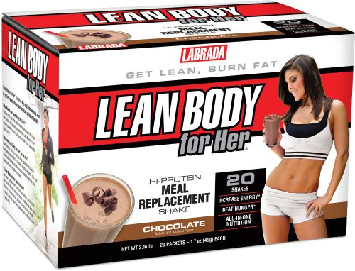 Labrada Nutrition Lean Body For Her Meal Replacement - 20 Packets Deli