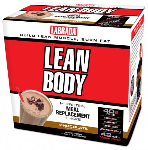 Labrada Nutrition Lean Body Meal Replacement - 42 Packets Chocolate