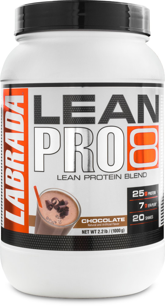 Labrada Nutrition Lean Pro8 - 2.2lbs Chocolate