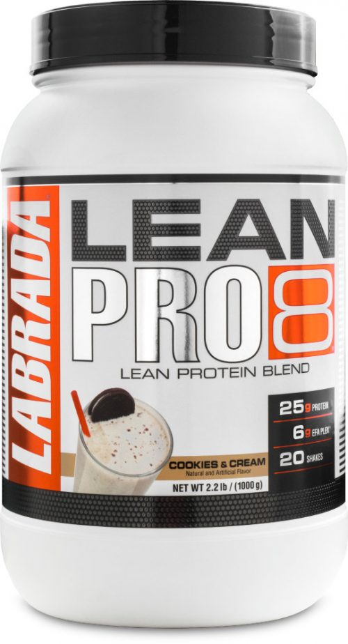 Labrada Nutrition Lean Pro8 - 2.2lbs Cookies & Cream