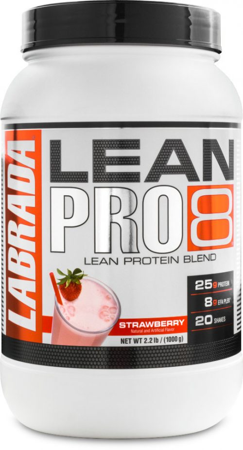 Labrada Nutrition Lean Pro8 - 2.2lbs Strawberry