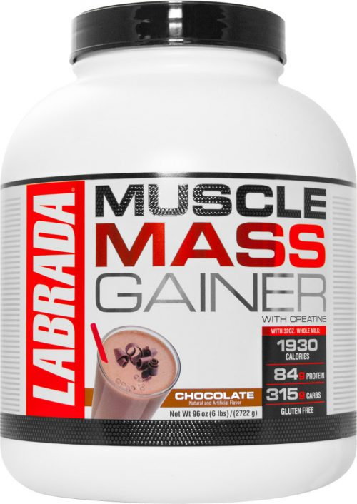 Labrada Nutrition Muscle Mass Gainer - 6lbs Chocolate