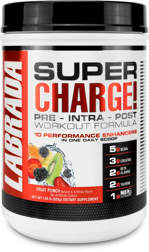 Labrada Nutrition Super Charge - 25 Servings Fruit Punch