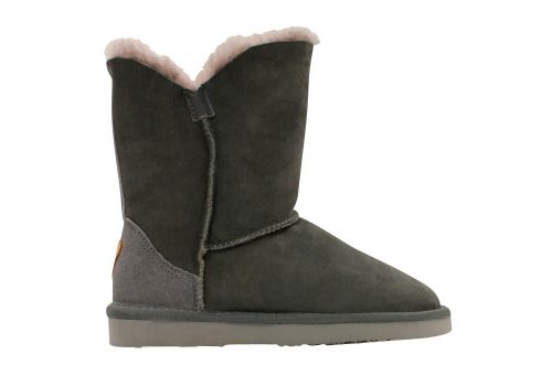 Lamo Liberty Sheepskin Boots - Women's - charcoal, 5