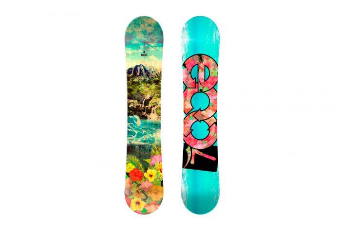 Launch Snowboards Launch Eco Snowboard - multi, 156cm
