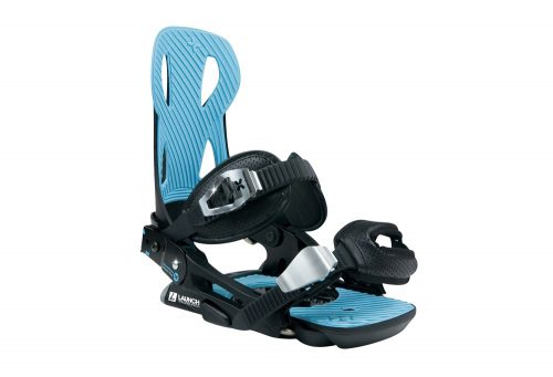 Launch Snowboards V2 Binding - black / blue, large