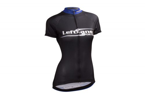 LeftLane Sports Team Jersey (Race Fit) - Womens - black/blue, medium
