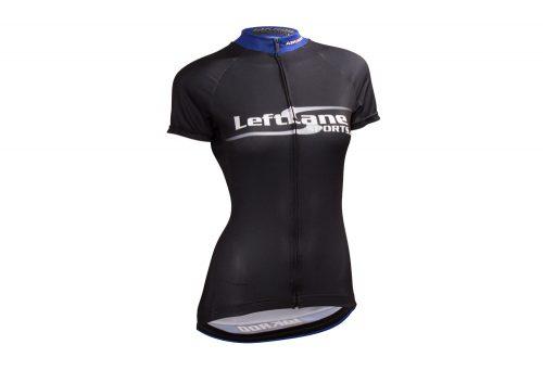 LeftLane Sports Team Jersey (Race Fit) - Womens - black/blue, small