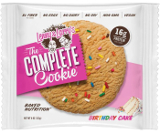Lenny & Larry's Complete Cookie - 1 4oz Cookie Birthday Cake