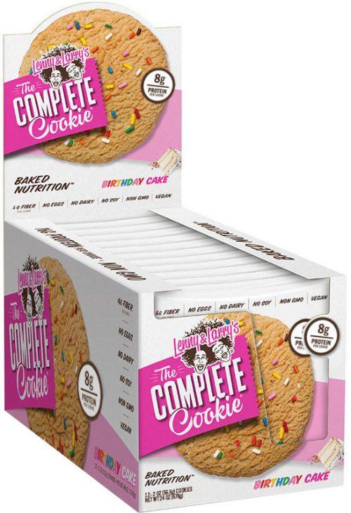 Lenny & Larry's Complete Cookie - 12 4oz Cookies Birthday Cake