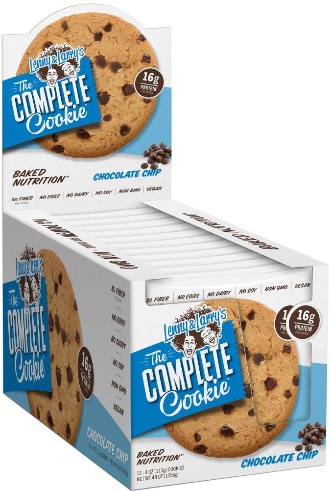 Lenny & Larry's Complete Cookie - 12 4oz Cookies Chocolate Chip
