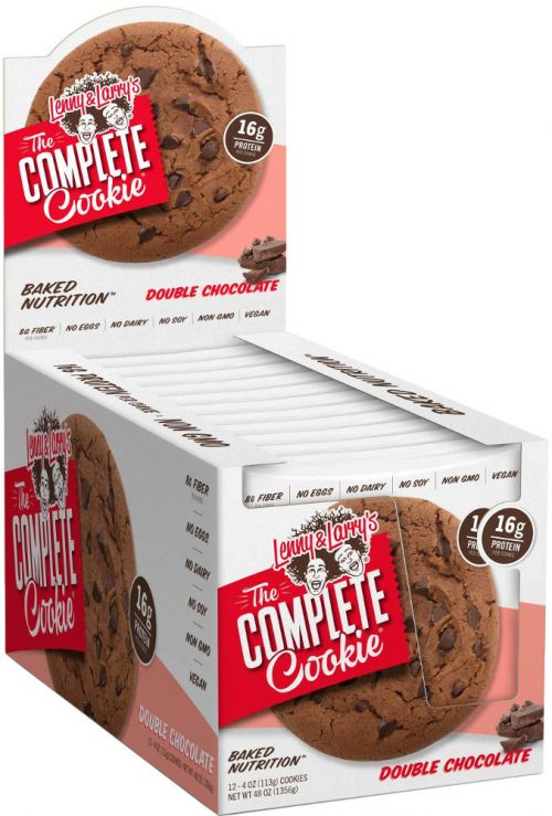 Lenny & Larry's Complete Cookie - 12 4oz Cookies Double Chocolate
