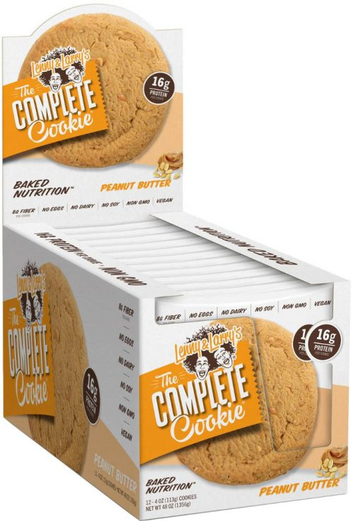 Lenny & Larry's Complete Cookie - 12 4oz Cookies Peanut Butter