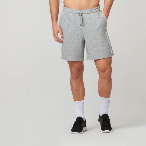 Logo Shorts - Grey Marl - XL