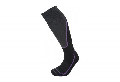 Lorpen T2 Ski Midweight Socks - Women's - black, small