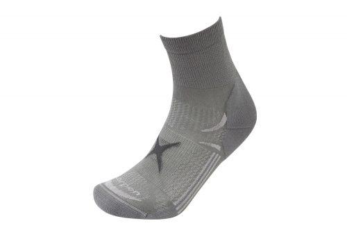 Lorpen T3 Light Hiker Shorty Socks - mid grey, small