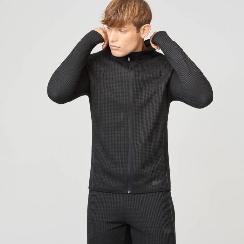 Luxe Reflect Hoodie 2.0 - Black - XXL