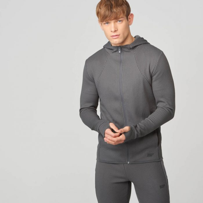 Luxe Reflect Hoodie 2.0 - Charcoal - L