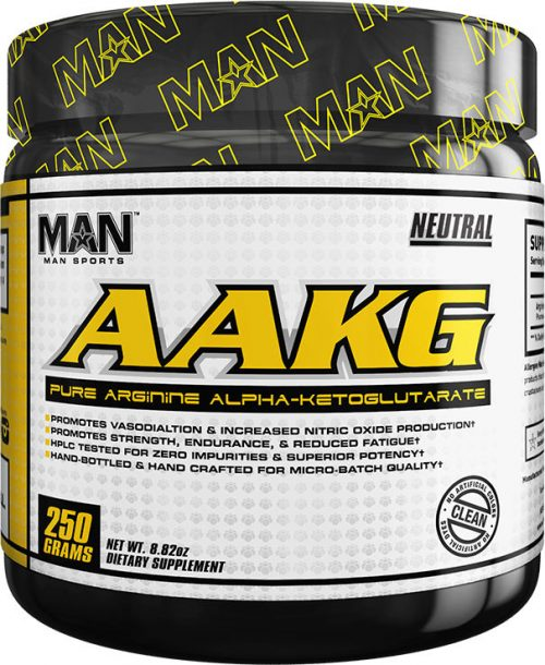 MAN Sports AAKG - 100 Servings Neutral