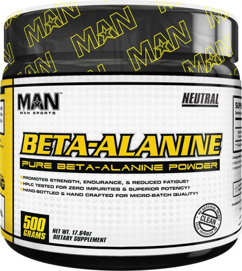 MAN Sports Beta-Alanine - 250 Servings Neutral