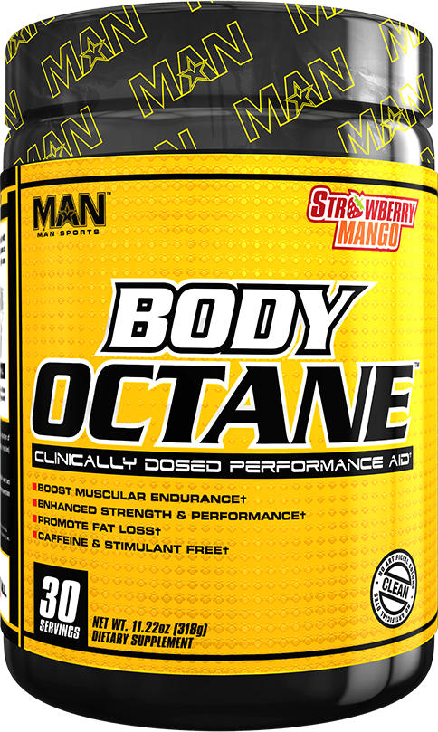 MAN Sports Body Octane - 30 Servings Strawberry Mango