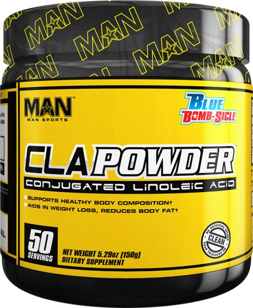 MAN Sports CLA Powder - 50 Servings Blue Bomb-Sicle