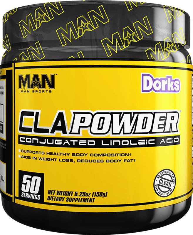 MAN Sports CLA Powder - 50 Servings Dorks