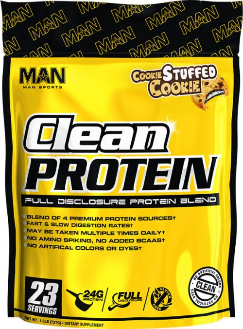 MAN Sports Clean Protein - 2lbs Cookie Stuffed Cookie