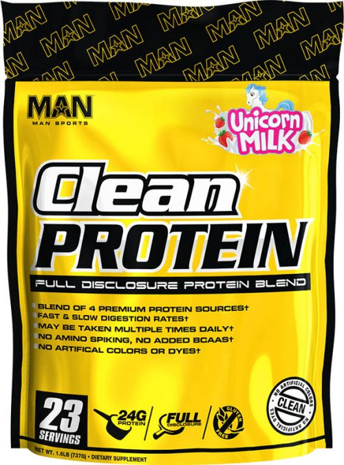 MAN Sports Clean Protein - 2lbs Unicorn Milk