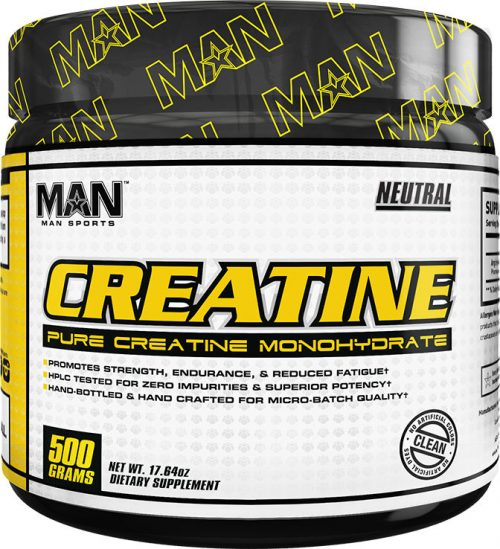 MAN Sports Creatine - 500g Unflavored