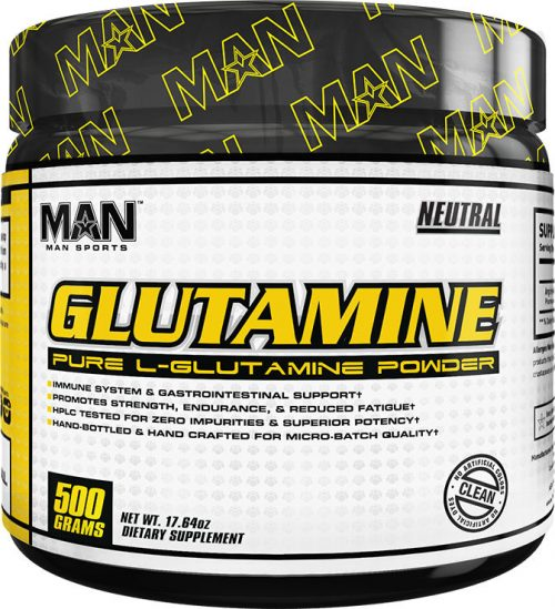 MAN Sports Glutamine - 500g Unflavored