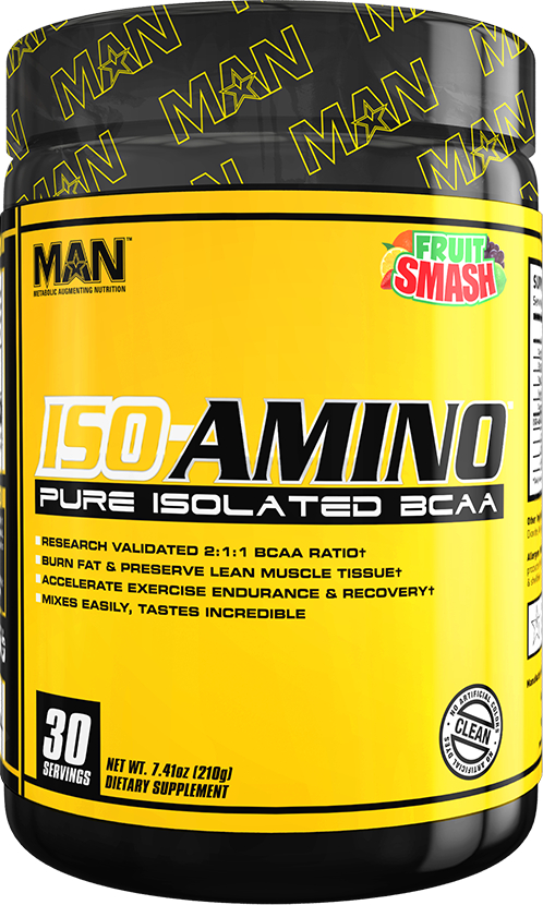 MAN Sports ISO-Amino - 30 Servings Fruit Smash