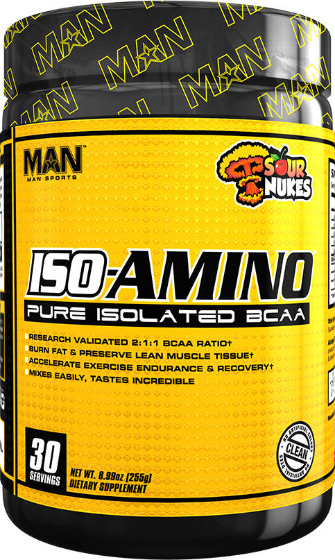 MAN Sports ISO-Amino - 30 Servings Sour Nukes