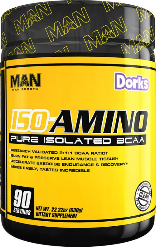 MAN Sports ISO-Amino - 90 Servings Dorks