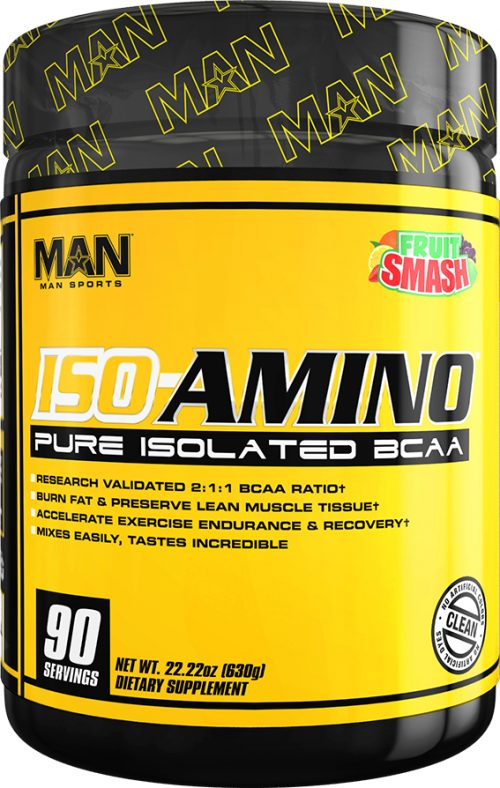 MAN Sports ISO-Amino - 90 Servings Fruit Smash