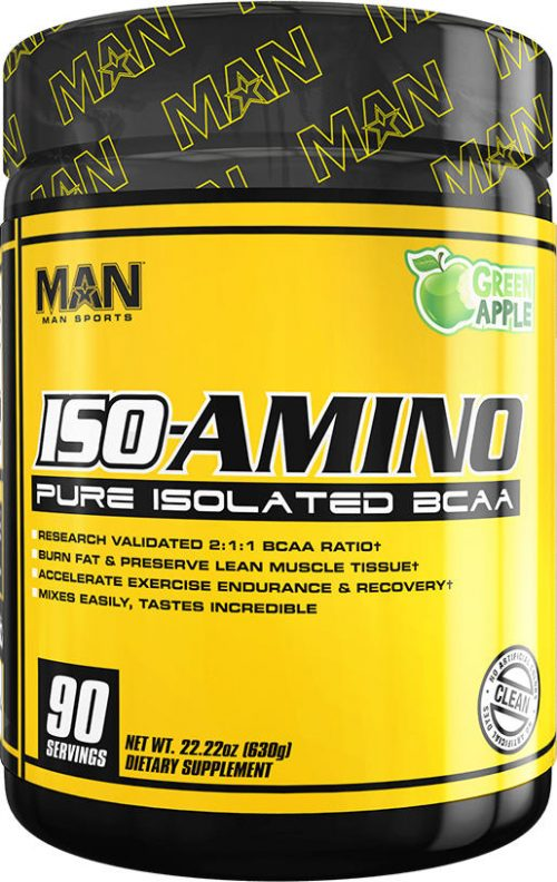 MAN Sports ISO-Amino - 90 Servings Green Apple