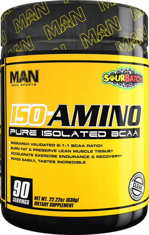 MAN Sports ISO-Amino - 90 Servings Sour Batch