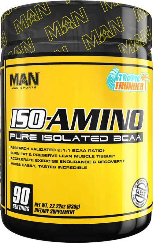 MAN Sports ISO-Amino - 90 Servings Tropic Thunder