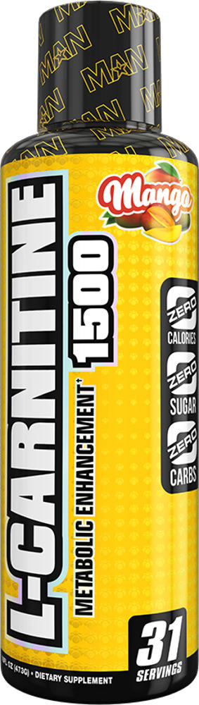 MAN Sports L-Carnitine 1500 - 31 Servings Mango