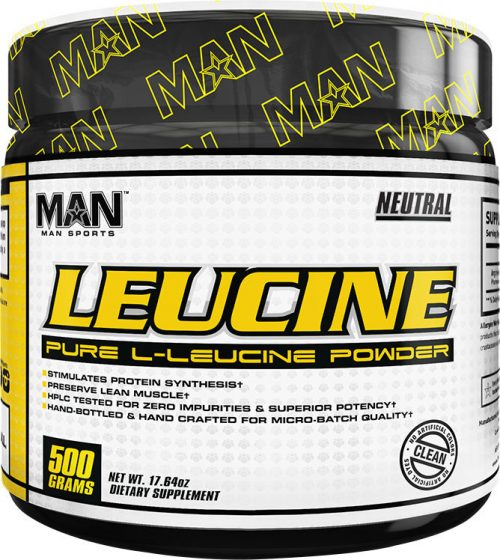 MAN Sports Leucine - 500g Unflavored