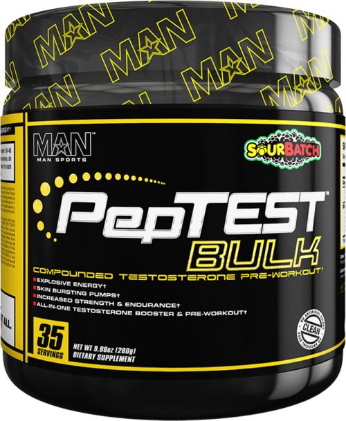 MAN Sports PepTest Bulk - 35 Servings Sour Batch