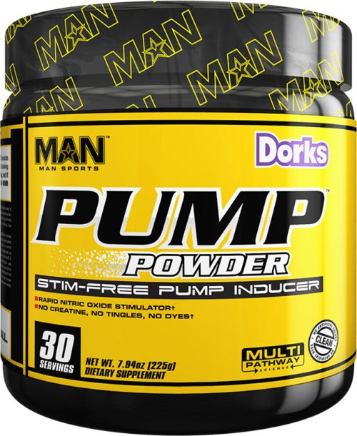 MAN Sports Pump Powder - 30 Servings Dorks