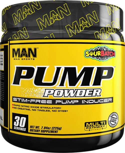 MAN Sports Pump Powder - 30 Servings Sour Batch