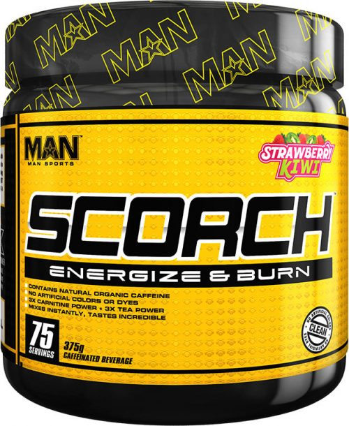 MAN Sports Scorch Powder - 75 Servings Grape Bubblegum