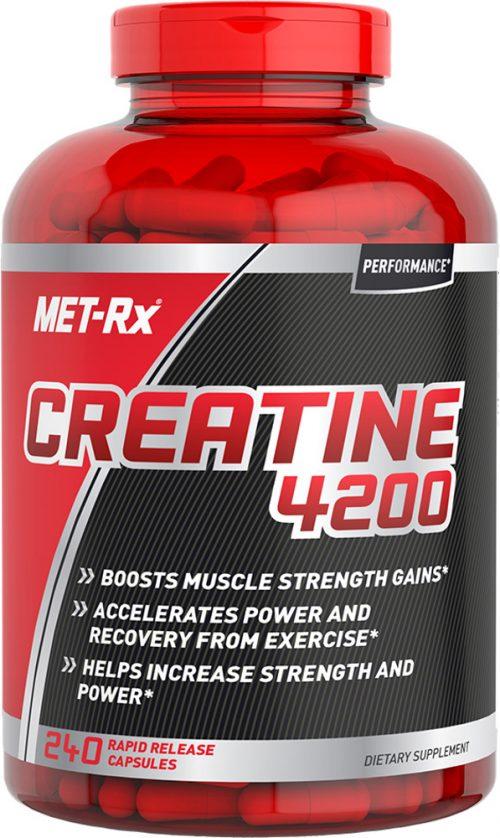 MET-RX Creatine 4200 - 240 Capsules